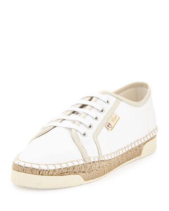 Evissa Espadrille Sneaker, White