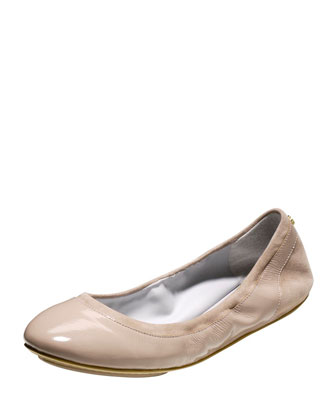 Avery Patent GRAND/OS Ballerina Flat, Maple Sugar