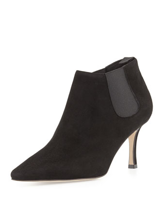 Linuspla Gored Suede Bootie