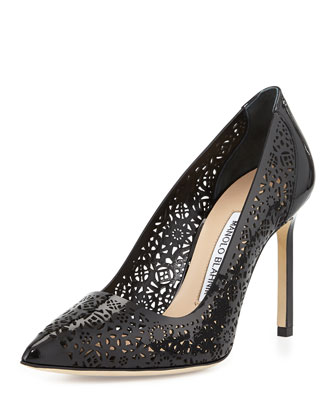 Patent Laser Cut Pump, Black