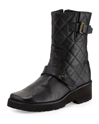 Adrian Quilted Leather Boot