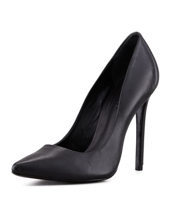 Gilberta Leather Pump, Black (Stylist Pick!)