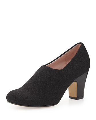 Tiffani Ankle Shoe-Bootie, Black