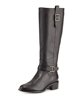 Kenmare Leather Riding Boot, Black