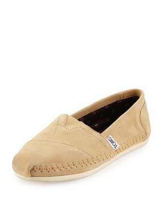 Sitka Suede Slip-On, Taupe