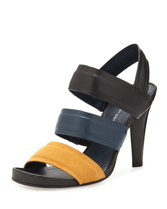Fennel Multi Band Sandal, Tumeric