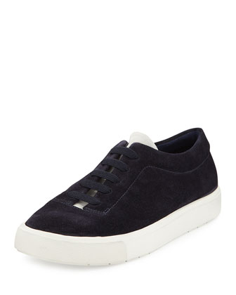 Canyon Suede Slip-On Sneaker, Heather Indigo/Bone