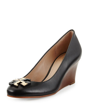 Lowell New Logo Wedge Pump, Black