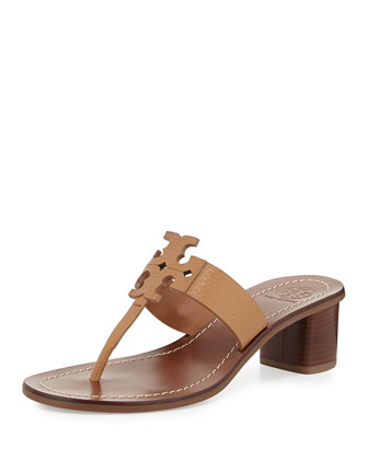 Moore Logo Thong City Sandal, Royal Tan