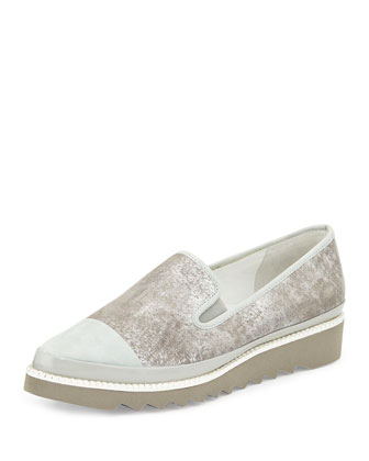Beliz Modern Slip-On, Silver