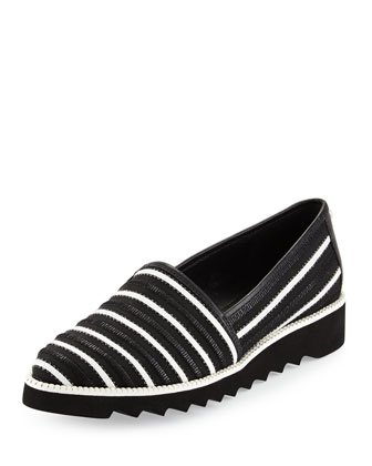 Bali Modern Slip-On, Black/White