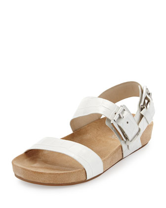Sawyer Double-Band Sandal, Optic White