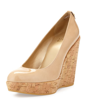 Corkswoon Patent Wedge Pump (Made to Order), Adobe