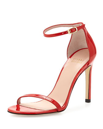 Nudistsong Patent Sandal, Pimento