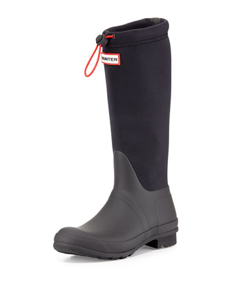 Neoprene Tour Boot, Black