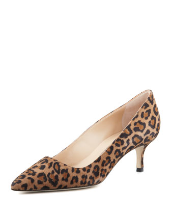 BB Specchio 50mm Pump, Leopard (Made to Order)