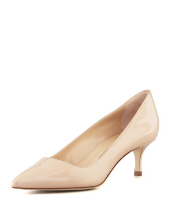 BB Patent 50mm Pump, Nude (Made to Order)