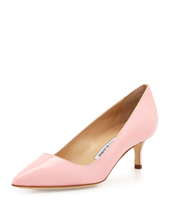BB Patent 50mm Pump, Light Pink