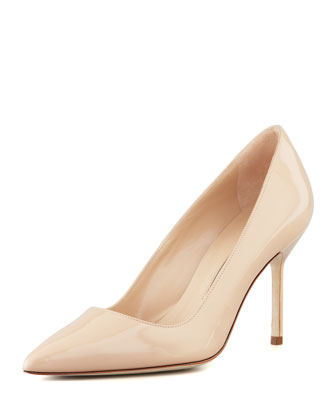 BB Patent 90mm Pump, Nude (Made to Order)