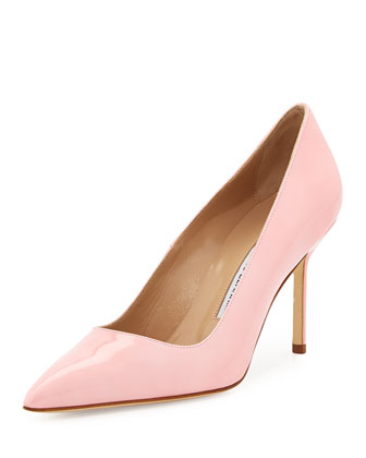 BB Patent 90mm Pump, Light Pink (Made to Order)