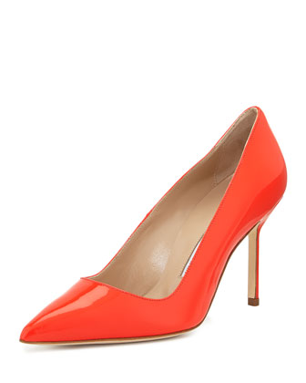 BB Patent 90mm Pump, Coral (Made to Order)