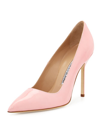BB Patent 105mm Pump, Light Pink (Made to Order)