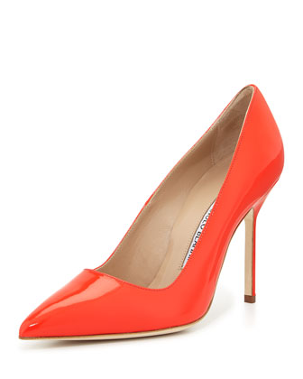 BB Patent 105mm Pump, Coral (Made to Order)
