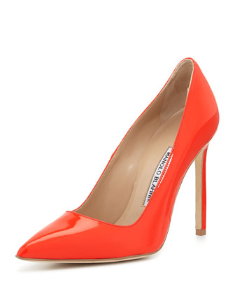 BB Patent 115mm Pump, Coral (Made to Order)