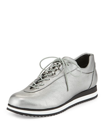 Relay Metallic Sneaker, Bullet