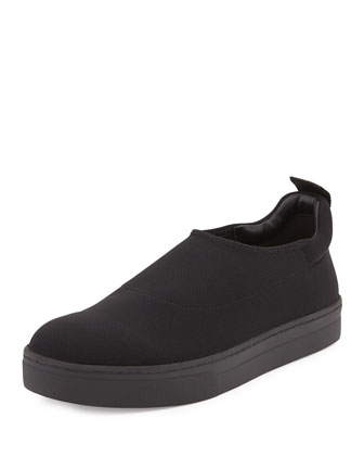 Cali Stretch Slip-On Sneaker, Black