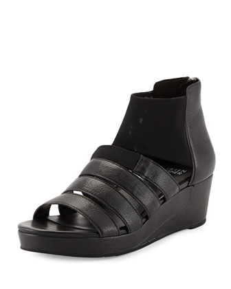 Fence Mid-Wedge Multi-Band Sandal