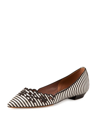 Daisy Chain Striped Flat