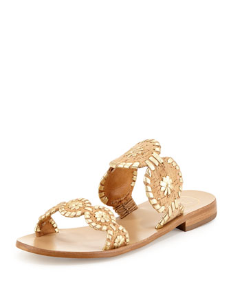Lauren Double-Strap Sandal, Cork