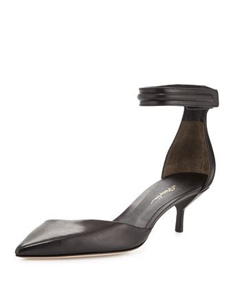 Martini d'Orsay Kitten Heel, Black