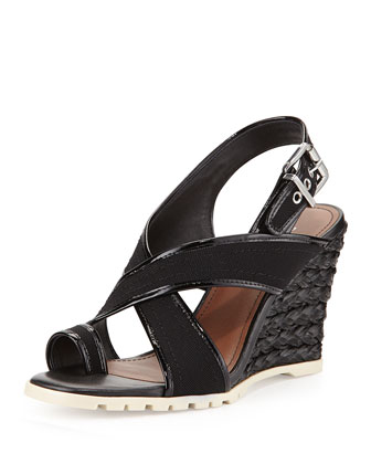 Burgos Toe-Ring Wedge, Black