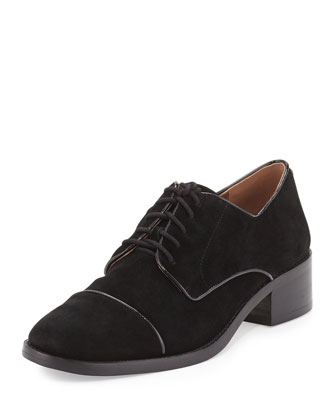 Zoee Suede Fashion Oxford,