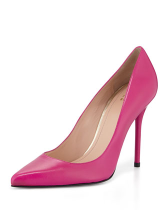 Nouveau Napa High-Heel Pump, Cyclamen