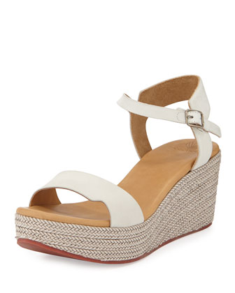 Nectar Braided Wedge Sandal, Natural