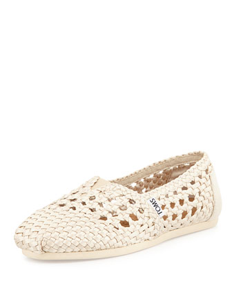 Woven Satin Slip-On, Whisper