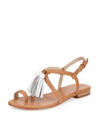 Sasha Tassel Toe Ring Sandal