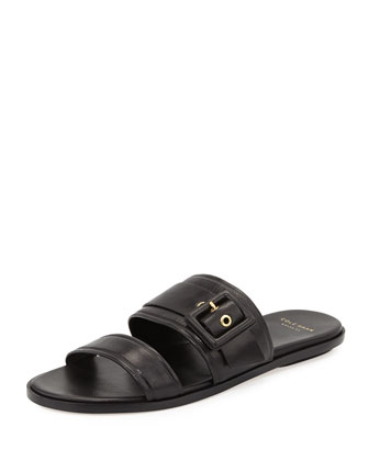 Amavia Double-Band Sandal, Black