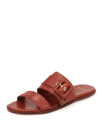 Amavia Double-Band Sandal, Sequoia