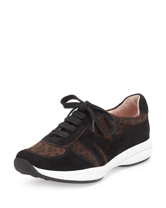 Arvella Leopard-Print Sneaker, Leopard