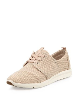 Del Ray Canvas Sneaker, Natural