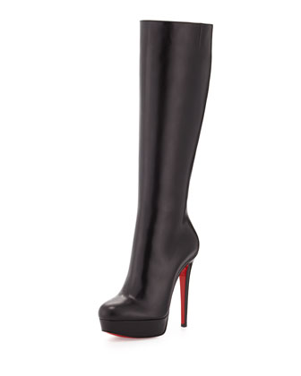 Bianca Botta Platform Red Sole Boot, Black
