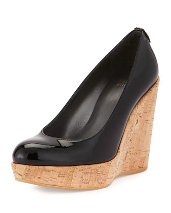 Corkswoon Patent Wedge Pump (Made to Order), Black