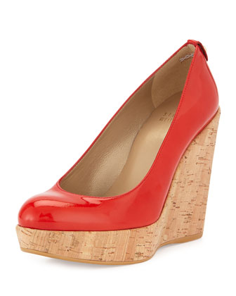 Corkswoon Patent Wedge Pump (Made to Order), Pimento