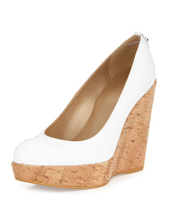 Corkswoon Patent Wedge Pump (Made to Order), White