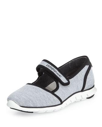 ZeroGrand Mary Jane Sneaker, Gray
