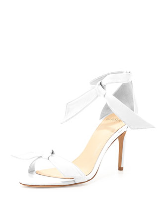 Naked Napa Knot Ankle-Tie Sandal